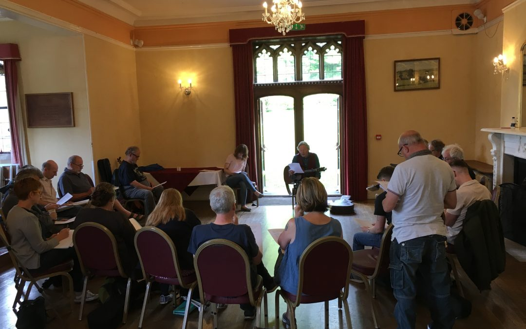 Imagine this……. new songwriting workshop at Halsway Manor Oct 26-28 2018