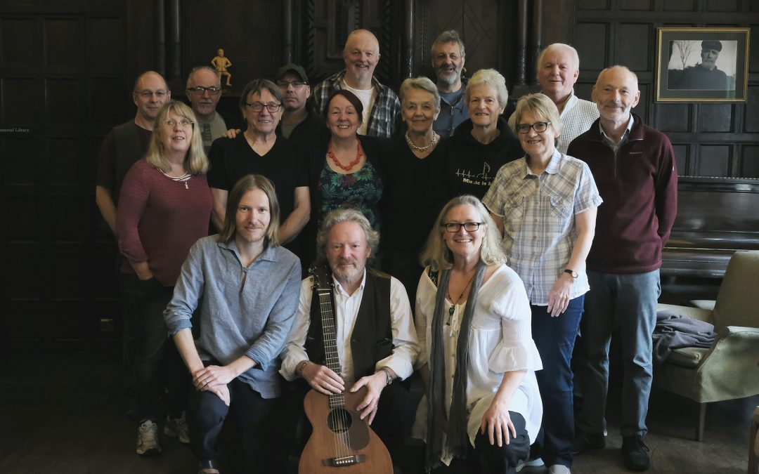 February Songwriting Retreat – Reg Meuross at Halsway Manor