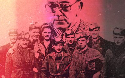 """""""You don't get medals down the mine"""" – The Bevin Boys (Bill Pettinger's Lament)"""