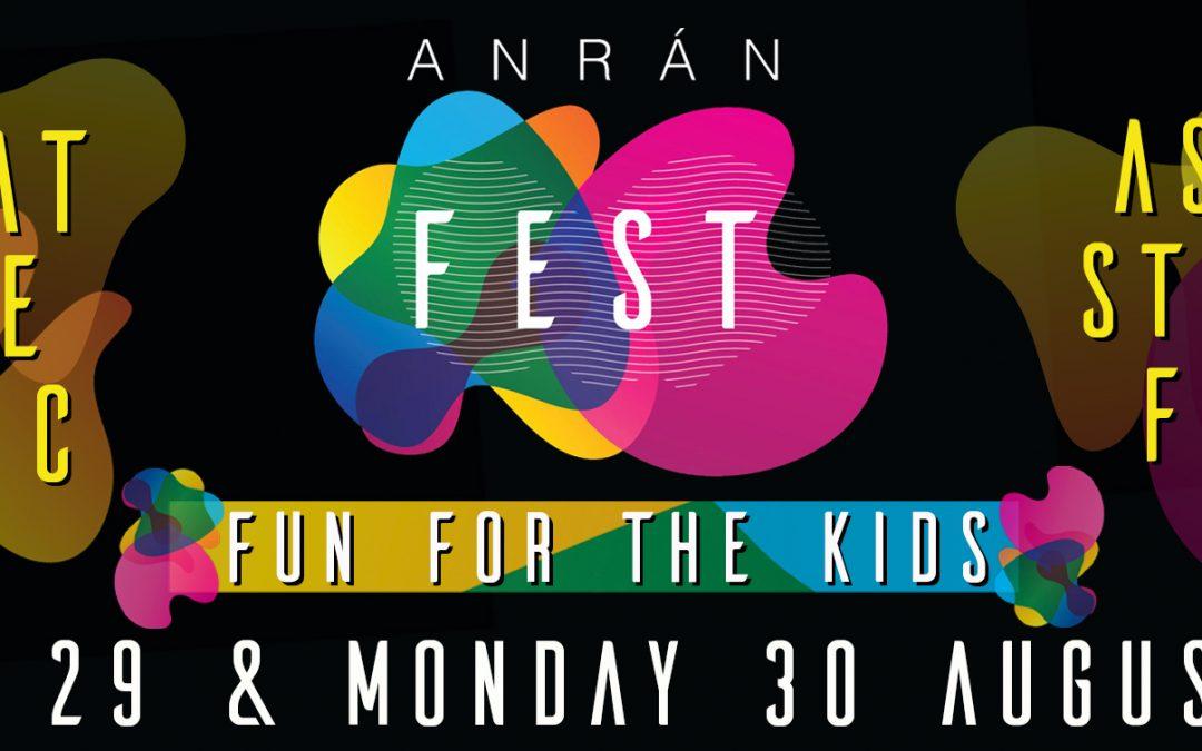 A new Devon Festival – ANRÀN FEST 29/30 AUGUST