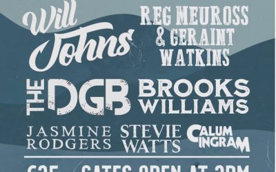 Inaugural Blues Down Festival Brings Live Blues Music to Askerswell 13th August 3pm to midnight.